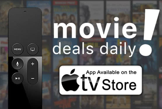 Movie Deals Daily for iPhone and AppleTV