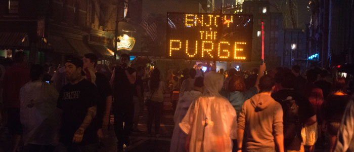 Halloween Horror Nights 24 The Purge