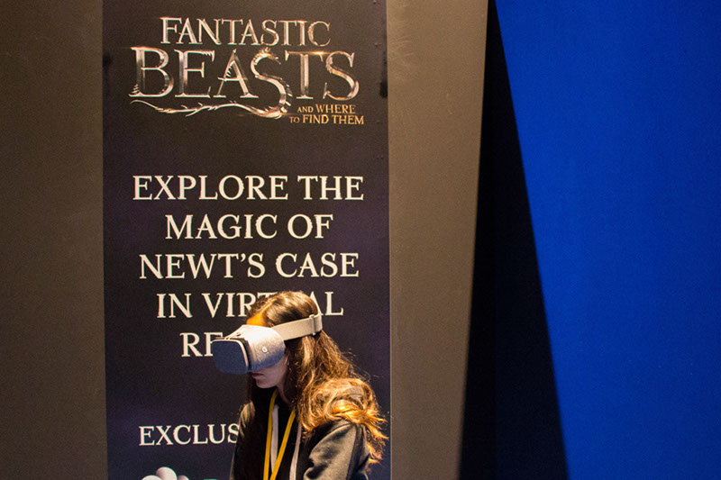 Fantastic Beasts and Where to Find Them Virtual Reality